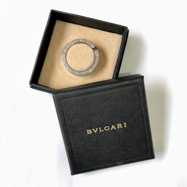 Bulgari 925 Sterling Silver Key Chain/Pendant