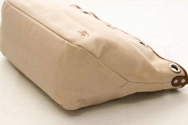 Burberry Blue Label Beige Canvas 2-Way Bag