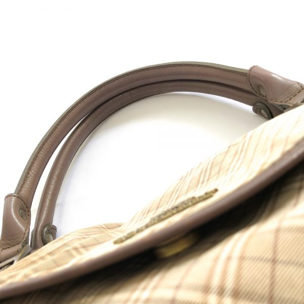 Burberry Blue Label Olive Canvas Bag