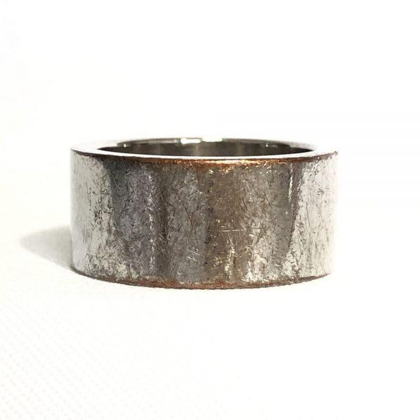 Christian Dior Dangling Charm Palladium Plated Ring