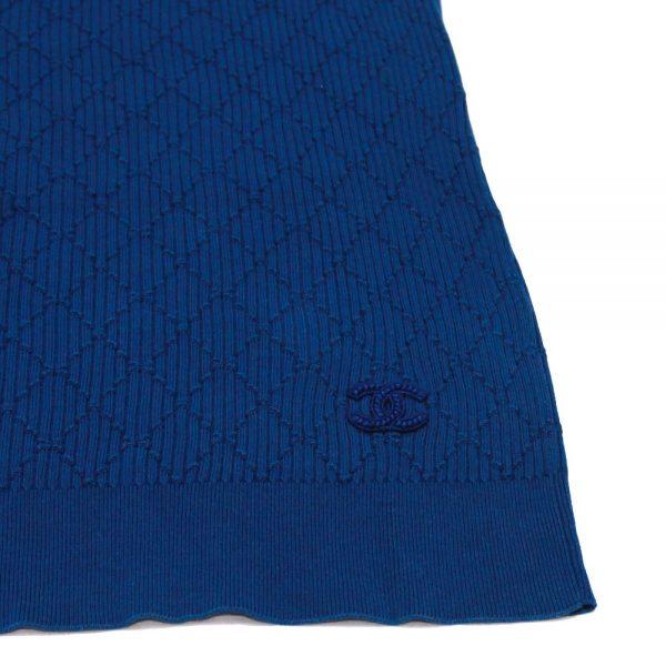 Chanel Lattice Pattern Knit Top