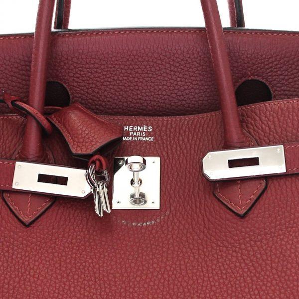Hermes Birkin 40 Togo Leather Bag