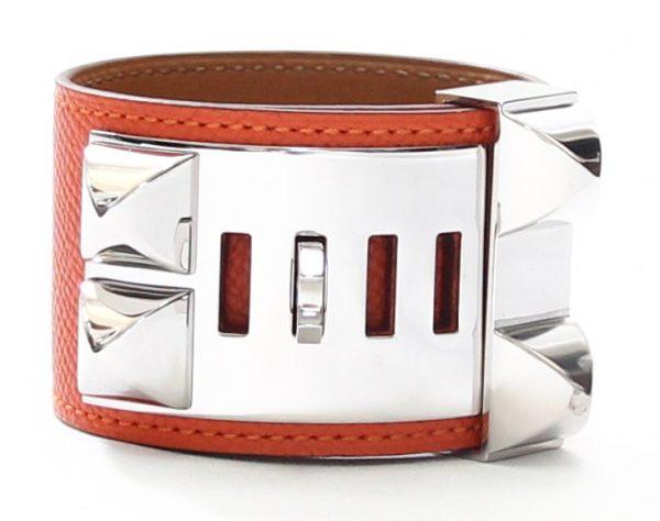 Hermes Collier De Chien Size XS Bracelet