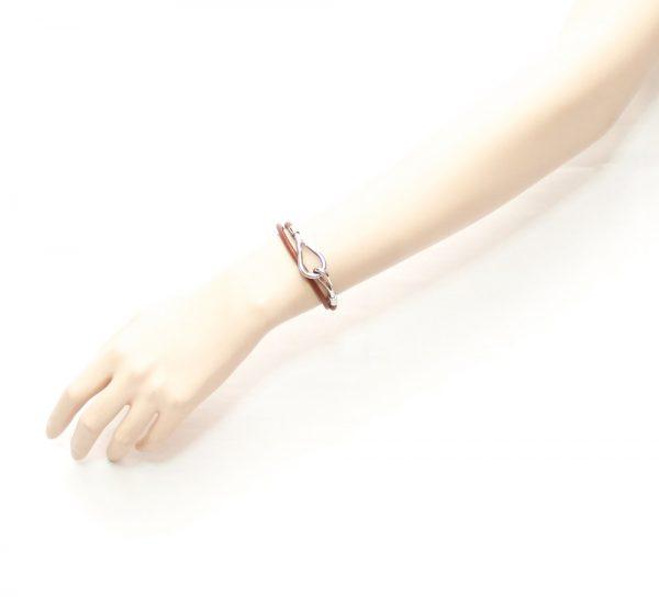 Hermes Jombo Leather Hook Bracelet/Choker