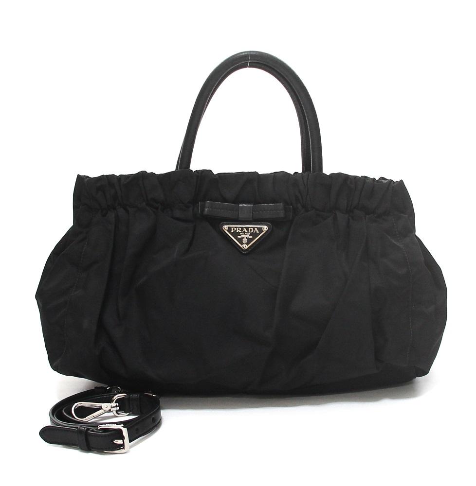 Prada Tessuto Satchel Bag