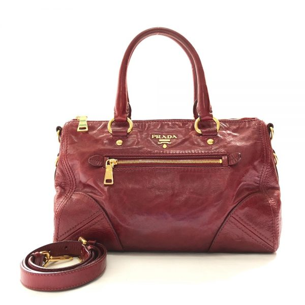Prada Distressed Leather Tote