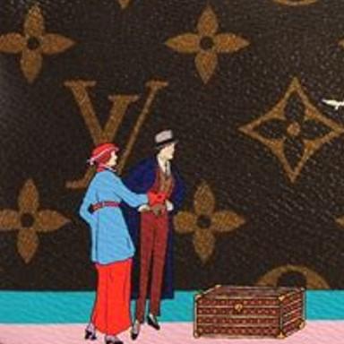 Louis Vuitton Monogram Canvas Illustre