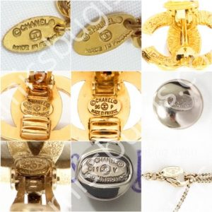 Chanel Costume Jewelry Dating Stamping Mark Guide