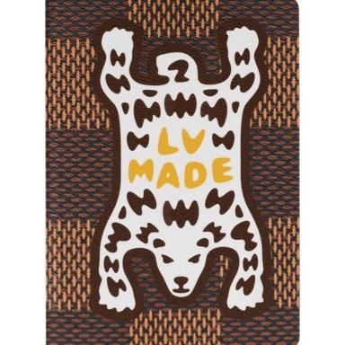 Louis Vuitton x Nigo Monogram Ebene Canvas LV² LV Made Bear