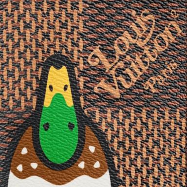 Louis Vuitton x Nigo Monogram Ebene Canvas LV² LV Made Duck
