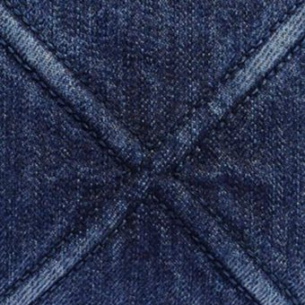 Different Types of Chanel Fabric and Non-Leather Material - Chanel denim