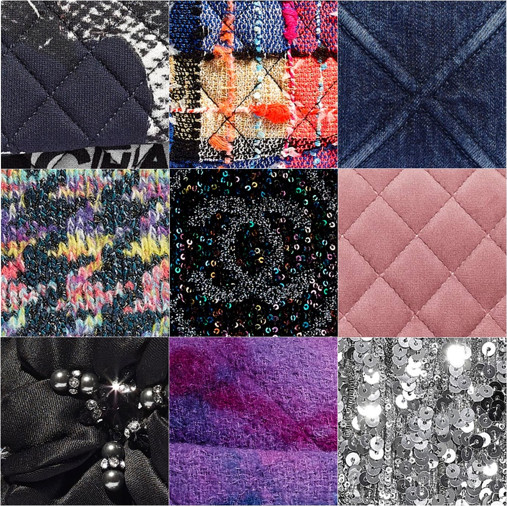 Different Types of Chanel Fabric and Non-Leather Material