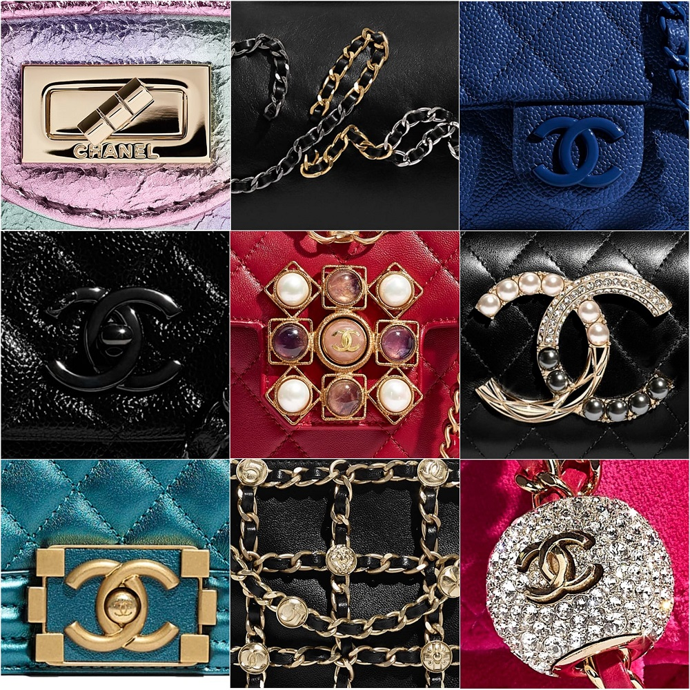 Different Types of Chanel Hardware