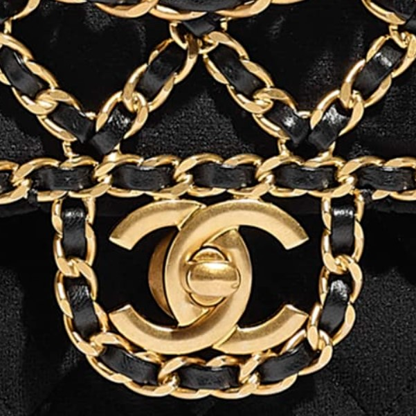 Different Types of Chanel Hardware - Chanel goldtone metal