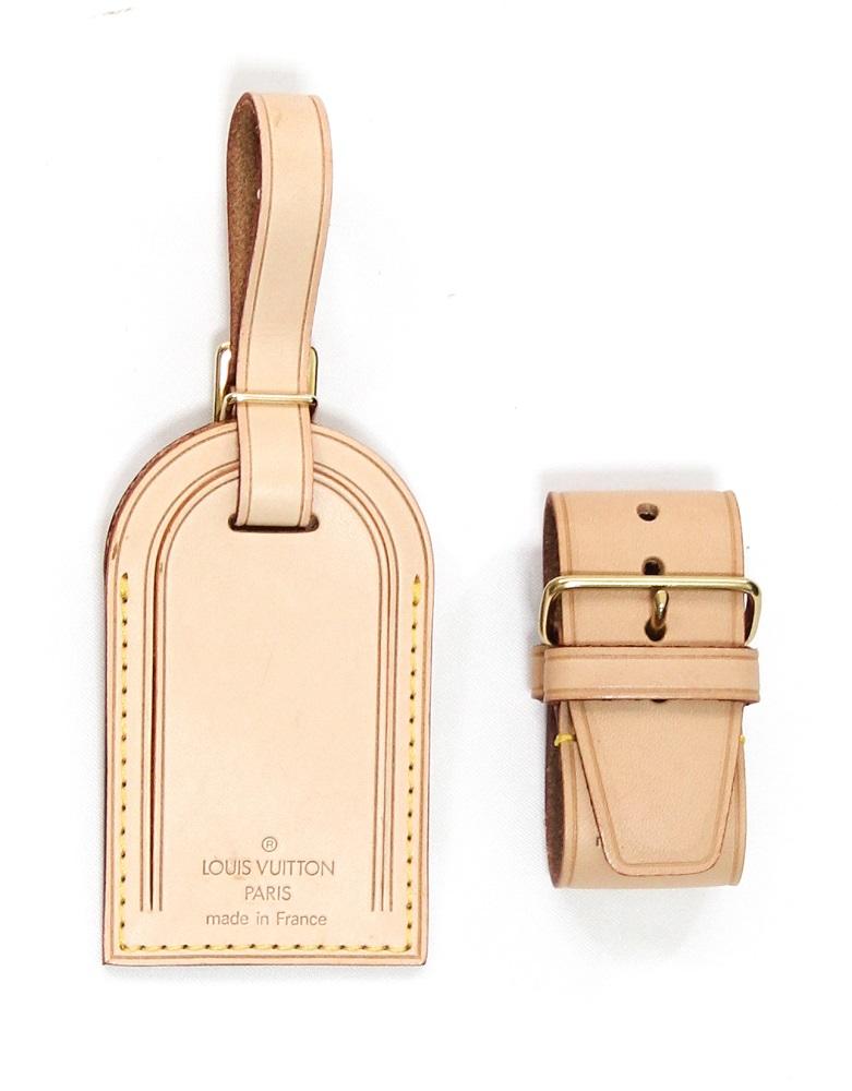 Louis Vuitton Luggage Tag Set Large