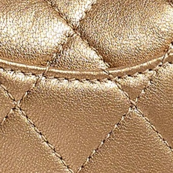 Different Types of Chanel Leather - Chanel metallic lambskin
