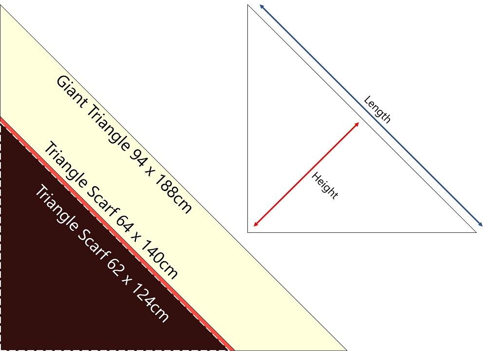 Hermes Giant Triangle, Triangle Scarf