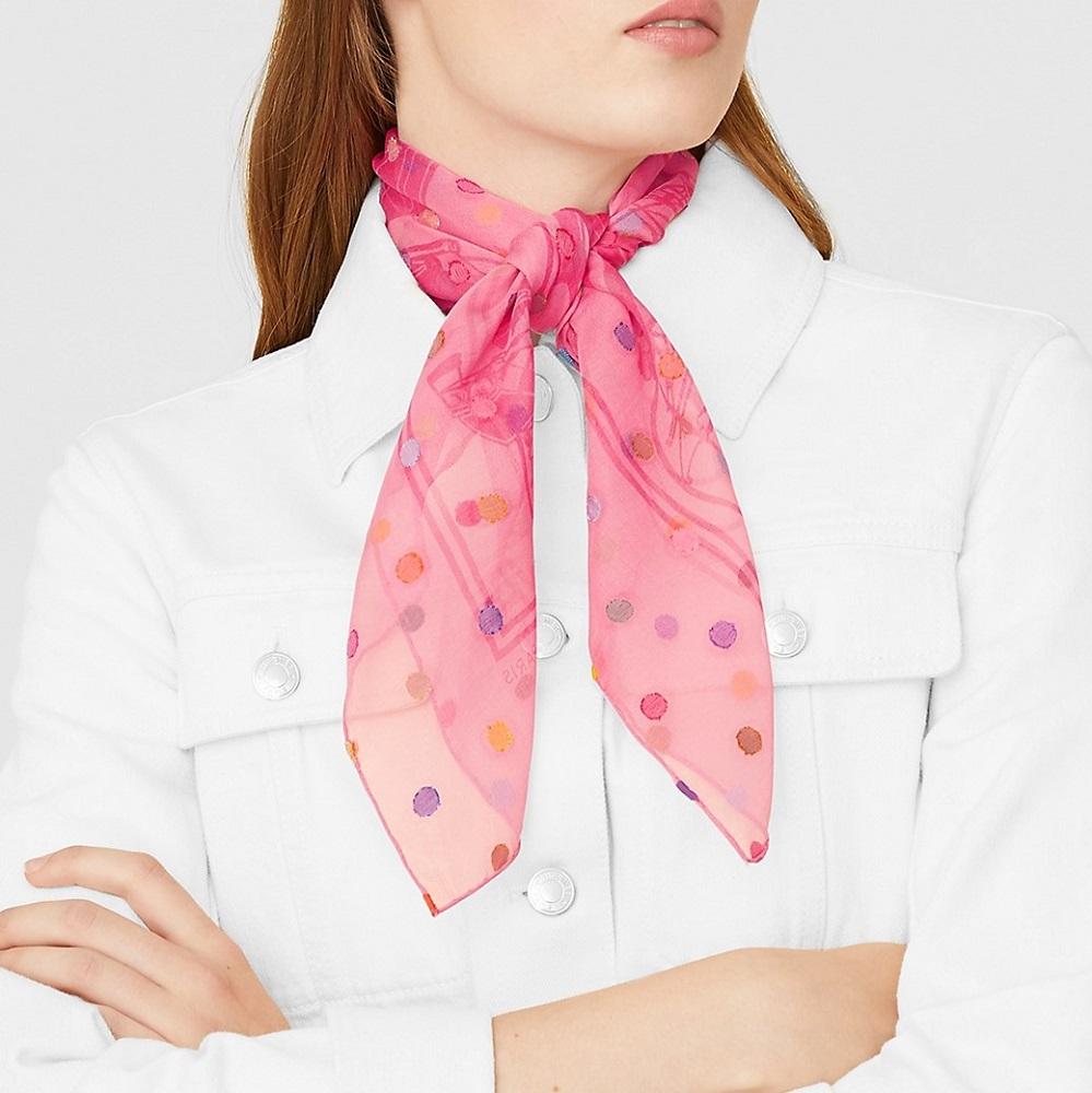 Hermes square scarf 70cm