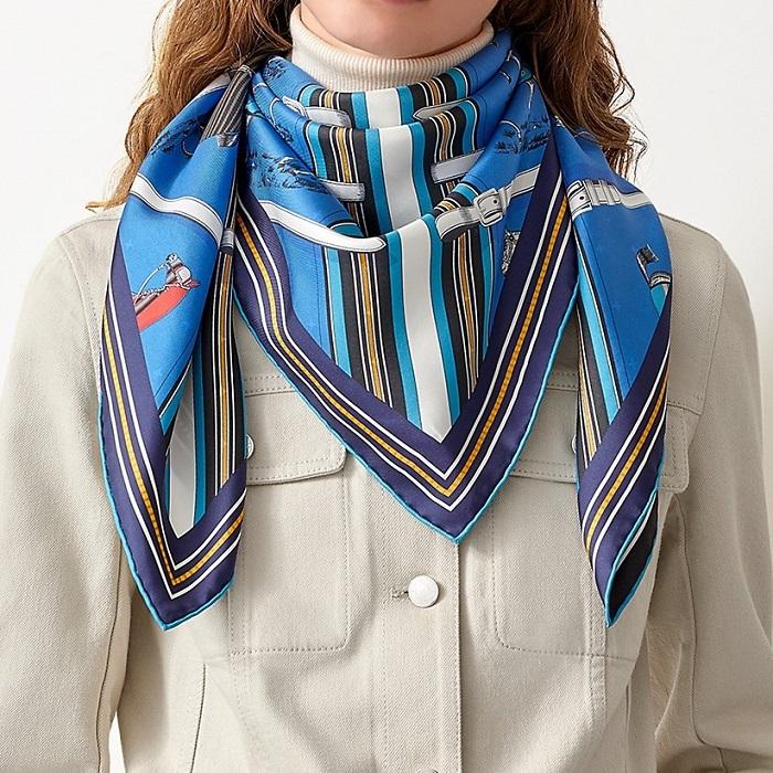 Hermes square scarf 90cm