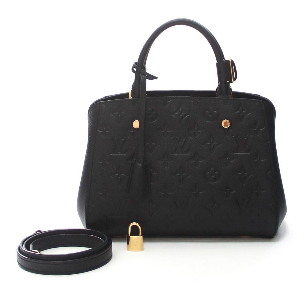 Louis Vuitton Monogram Empreinte Leather Montaigne BB