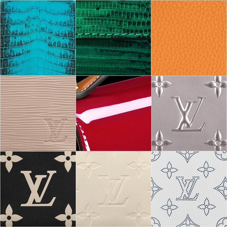 Different Types of Louis Vuitton Leather