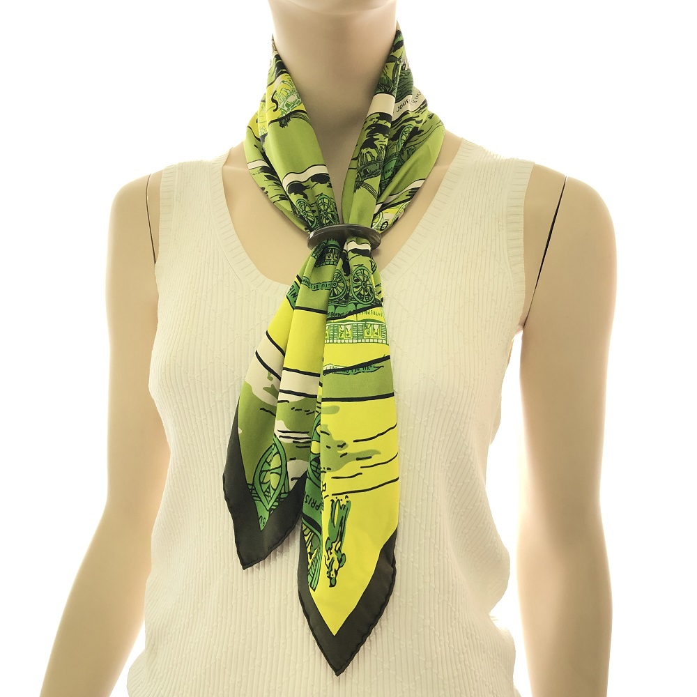 Hermes 70cm Silk Scarf Jewel Square