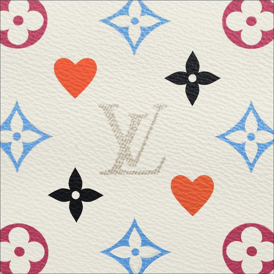 Louis Vuitton Game On Monogram Canvas White