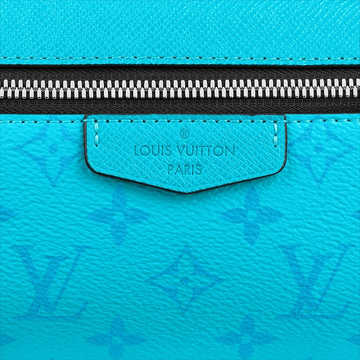 Louis Vuitton Monogram Eclipse Lagoon Blue