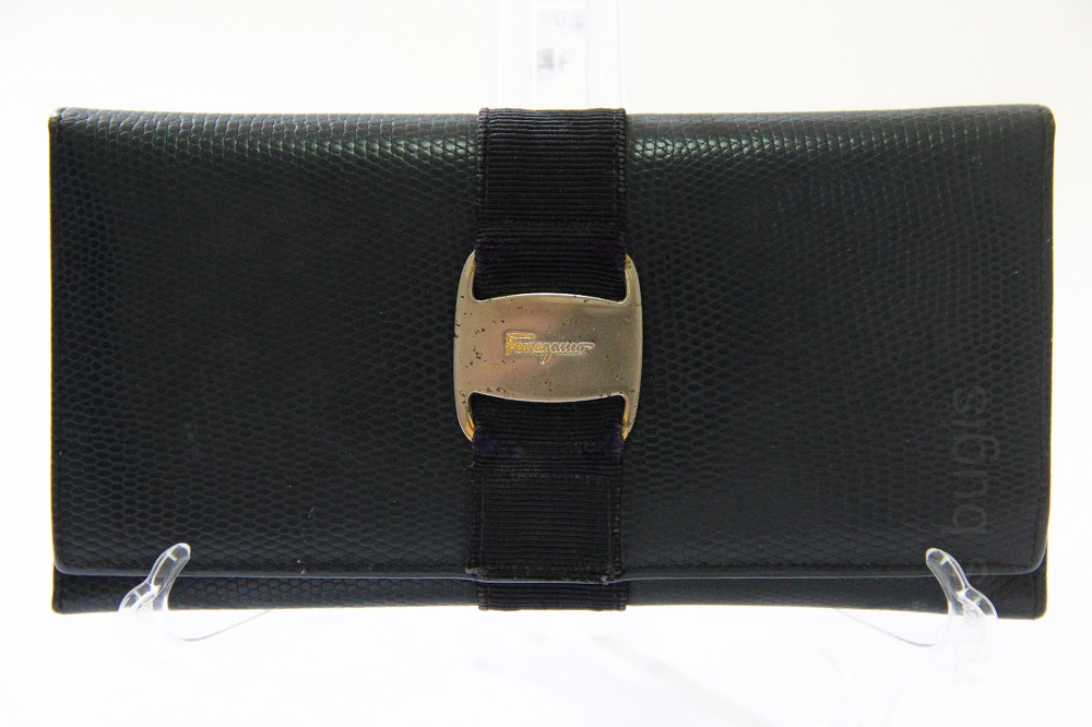 Salvatore Ferragamo Vara Bow Leather Wallet