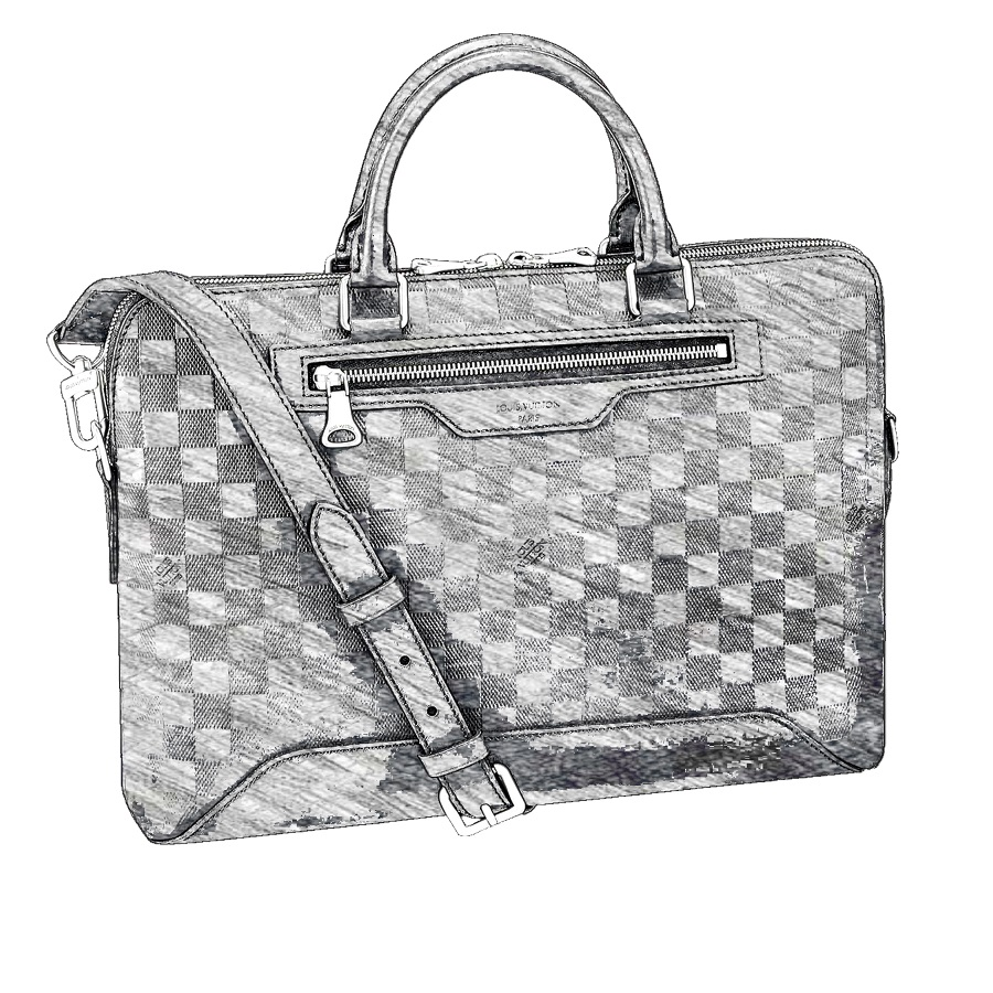 LV Avenue Soft Briefcase
