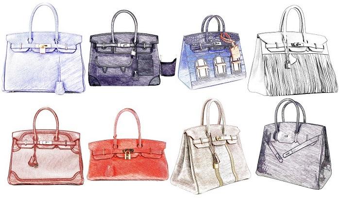 Hermes Women's Bag Model Index - Hermes Birkin Variations