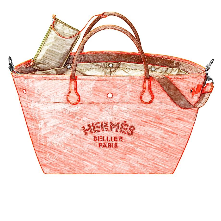 Hermes Fourre-tout Du Cavalier Bag