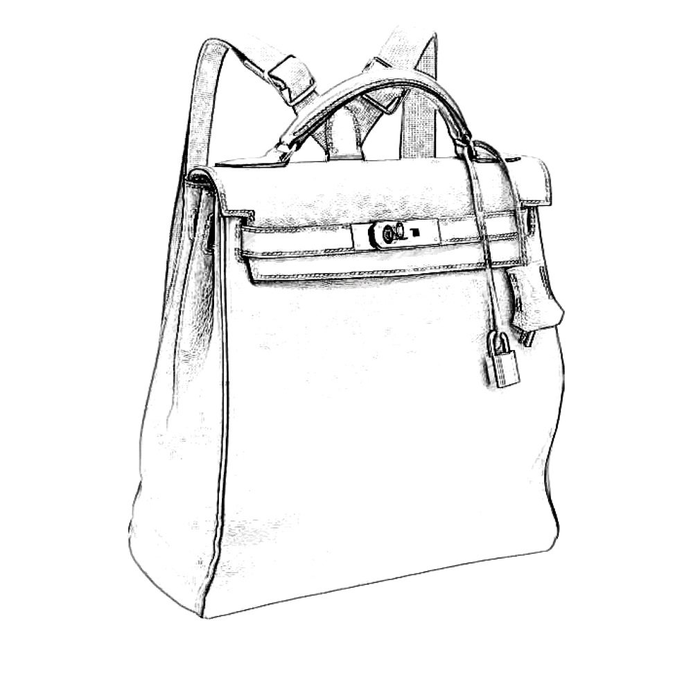 Hermes Kelly Ado Backpack