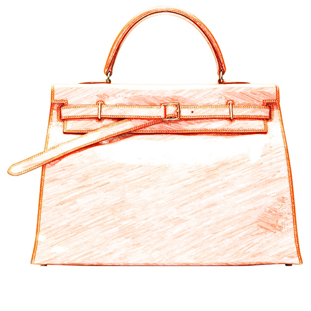 Hermes Kelly Flat Bag