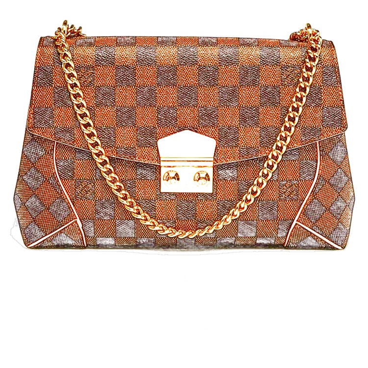 LV Caissa Chain Clutch