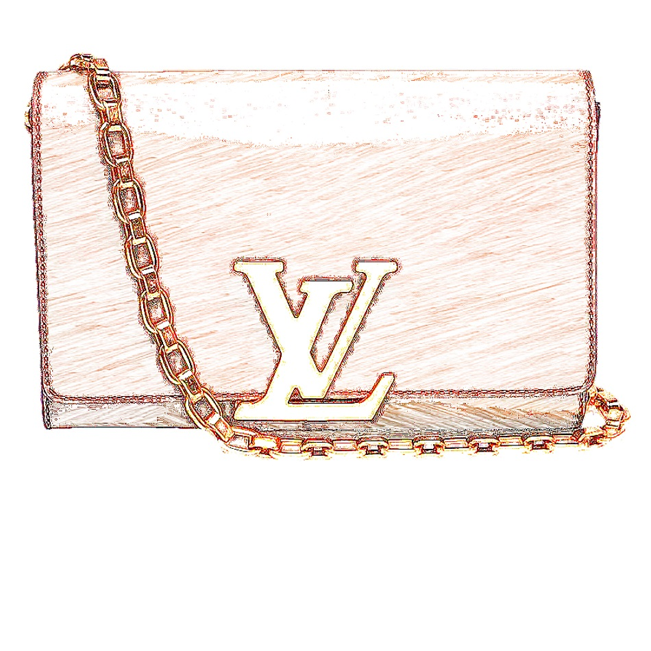 LV Louise Chain Clutch