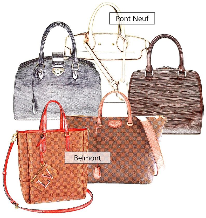 Louis Vuitton Women's Bag Model Index