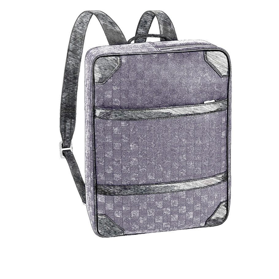 LV Briefcase Backpack