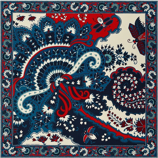 Hermes 140cm Paisley from Paisley