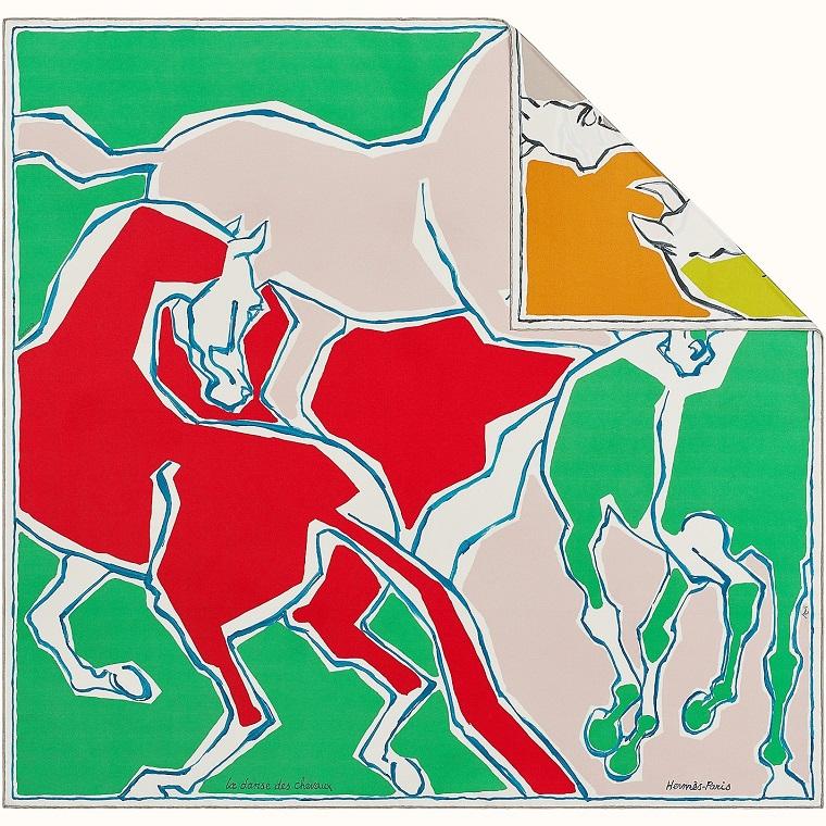 Hermes 90cm La Danse des Chevaux